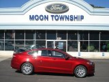 2013 Ruby Red Metallic Ford Fusion SE 1.6 EcoBoost #72040229