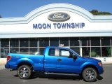 2012 Blue Flame Metallic Ford F150 STX SuperCab 4x4 #72040227