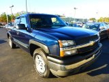 Dark Blue Metallic Chevrolet Silverado 1500 in 2005