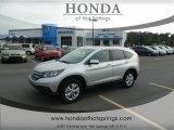 2013 Alabaster Silver Metallic Honda CR-V EX-L #72040339