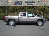 2013 Mocha Steel Metallic Chevrolet Silverado 1500 LT Crew Cab 4x4 #72040216