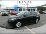 2013 Crystal Black Pearl Honda CR-V EX-L #72040336
