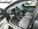 2013 Honda CR-V EX-L AWD Gray Interior