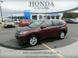 2013 Basque Red Pearl II Honda CR-V EX-L AWD #72040329