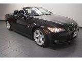 2010 Black Sapphire Metallic BMW 3 Series 335i Convertible #72040445