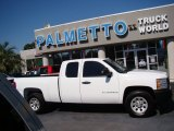 2008 Summit White Chevrolet Silverado 1500 Work Truck Extended Cab #72101898