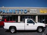 2006 Summit White Chevrolet Silverado 1500 Work Truck Regular Cab #72101896