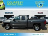 2011 Taupe Gray Metallic Chevrolet Silverado 1500 LS Extended Cab #72102215