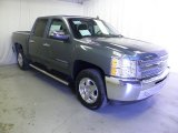2013 Blue Granite Metallic Chevrolet Silverado 1500 LT Crew Cab #72101995