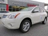 2013 Pearl White Nissan Rogue SV #72101878