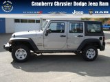 2013 Billet Silver Metallic Jeep Wrangler Unlimited Sport 4x4 #72101756