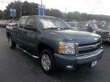 2007 Blue Granite Metallic Chevrolet Silverado 1500 LT Extended Cab #72101637