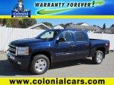 2010 Imperial Blue Metallic Chevrolet Silverado 1500 LT Crew Cab 4x4 #72102280