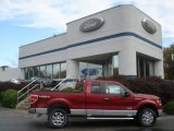2013 Ruby Red Metallic Ford F150 XLT SuperCab 4x4 #72101622
