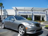 2013 Palladium Silver Metallic Mercedes-Benz S 550 Sedan #72101613