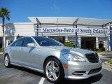2013 Iridium Silver Metallic Mercedes-Benz S 550 Sedan #72101612