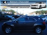 2013 Tungsten Metallic Chevrolet Equinox LT AWD #72102252