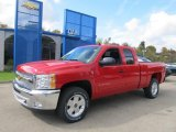 2013 Victory Red Chevrolet Silverado 1500 LT Extended Cab 4x4 #72101710