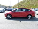 2012 Red Candy Metallic Ford Focus SEL Sedan #72102049