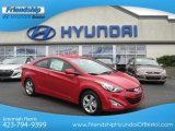 2013 Volcanic Red Hyundai Elantra Coupe GS #72101695
