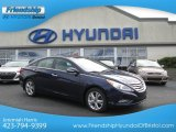 2013 Indigo Night Blue Hyundai Sonata Limited #72101689