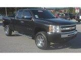 2010 Black Granite Metallic Chevrolet Silverado 1500 LT Extended Cab 4x4 #72102033
