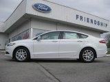 2013 Oxford White Ford Fusion SE #72101686