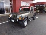 2006 Light Khaki Metallic Jeep Wrangler Unlimited Rubicon 4x4 #72101925