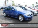 2009 Montego Blue Metallic BMW 3 Series 328i Sedan #72159690