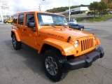 2013 Jeep Wrangler Unlimited Crush Orange