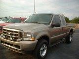 2003 Arizona Beige Metallic Ford F250 Super Duty XL SuperCab 4x4 #72159826