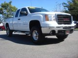 2007 Summit White GMC Sierra 2500HD SLE Extended Cab 4x4 #72159526