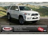 2013 Blizzard White Pearl Toyota 4Runner Limited 4x4 #72159435