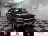 2002 Onyx Black Chevrolet Silverado 1500 LS Crew Cab #72159601