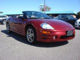 2003 Ultra Red Pearl Mitsubishi Eclipse Spyder GTS #72159508