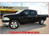 2012 Black Dodge Ram 1500 Lone Star Crew Cab #72159804