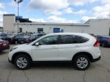 2013 White Diamond Pearl Honda CR-V EX-L AWD #72159874