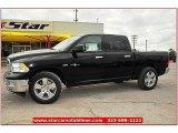 2012 Black Dodge Ram 1500 Lone Star Crew Cab 4x4 #72159801