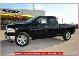 2012 Black Dodge Ram 1500 Lone Star Quad Cab #72159800