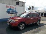 2013 Ruby Red Metallic Ford Explorer XLT #72159592