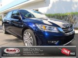 2013 Obsidian Blue Pearl Honda Accord Sport Sedan #72159491