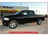 2012 Black Dodge Ram 1500 Express Crew Cab #72159797