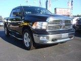 2009 Brilliant Black Crystal Pearl Dodge Ram 1500 Big Horn Edition Crew Cab 4x4 #72159926