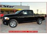 2012 Black Dodge Ram 1500 Express Quad Cab 4x4 #72159792