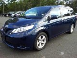 2011 South Pacific Blue Pearl Toyota Sienna LE #72159841