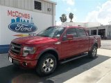2013 Ruby Red Metallic Ford F150 FX4 SuperCrew 4x4 #72159577