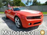 2010 Inferno Orange Metallic Chevrolet Camaro LT/RS Coupe #72159773