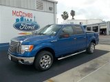 2012 Blue Flame Metallic Ford F150 XLT SuperCrew #72159569