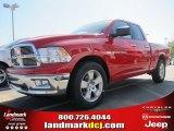 2012 Flame Red Dodge Ram 1500 Big Horn Quad Cab #72199752