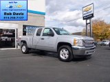 2012 Silver Ice Metallic Chevrolet Silverado 1500 LT Extended Cab 4x4 #72203734